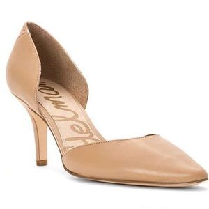Sam Edelman Opal D'Orsay Pumps in Nude